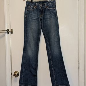 Lucky Brand Dungarees Socialite  bootcut jeans